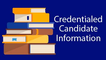 Credentialed Candidate Info